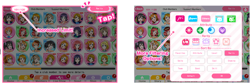 Coming Soon to SIF (Member List Filter)