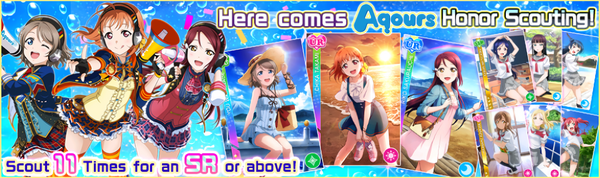 Aqours Honor Scouting
