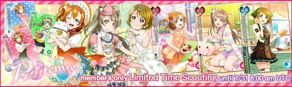(7-27) Printemps Limited Scouting