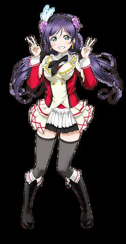File:Toujou Nozomi Character Profile (Pose 6).png