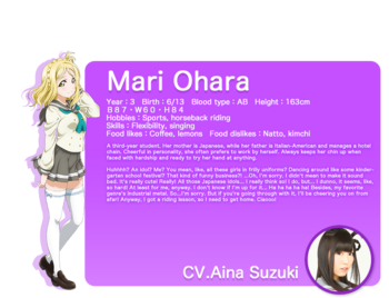 Sunshine!! translated character intro - Ohara Mari.png