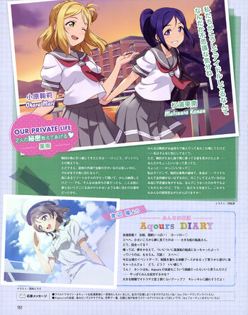 Dengeki G's Magazine Nov 2015 Mari Kanan You
