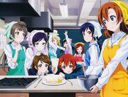 Cake Baking (Love Pair Pendant Wink Heart Tokuten)