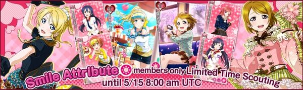 (5-12) Smile Limited Scouting