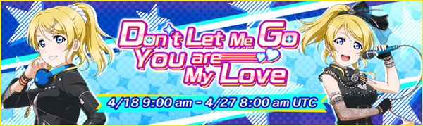 Don't Let Me Go You are My Love Event