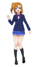 Kousaka Honoka Character Profile (Pose 1)