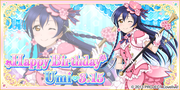 Happy Birthday, Umi! 2016