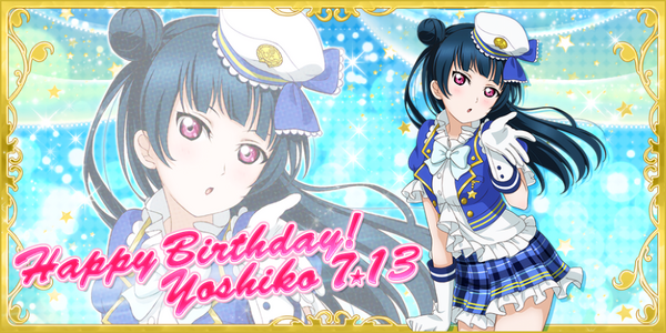 Happy Birthday, Yoshiko! 2016