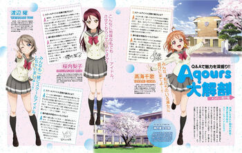 Dengeki G's Magazine June 2016 Q&A Chika Riko You