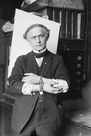 File:Houdini in Handcuffs, 1918.JPG