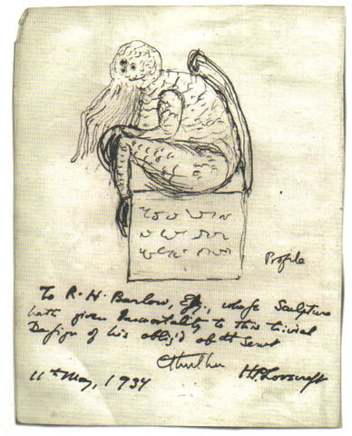 Datei:Cthulhu sketch by Lovecraft.jpg