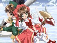 Sakura & Syaoran Promotional Pic (6)