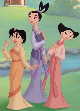 Ting-Ting, Mei & Su