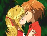 Lucia & Kaito S1E17 Kiss (1)