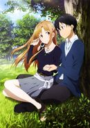 Asuna & Kirito Promotional Pic (17)