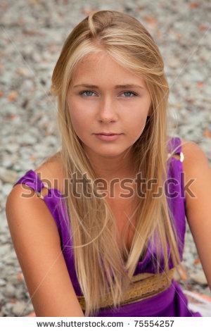File:Stock-photo-beautiful-teenager-in-purple-dress-looking-up-75554257.jpg