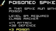 Poisoned Spike