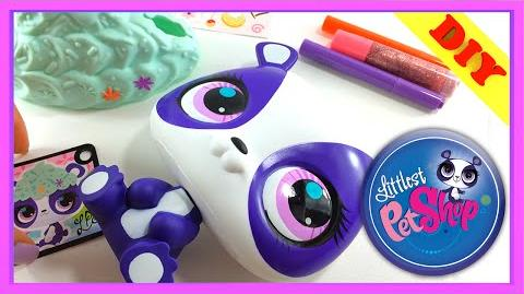 Littlest Pet Shop Deco Pets Penny Ling Pet - Design your own LPS