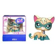 Littlest pet shop superherocat