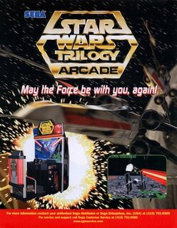 Star Wars Trilogy arcade flyer