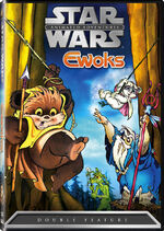 Star Wars Ewoks DVD cover