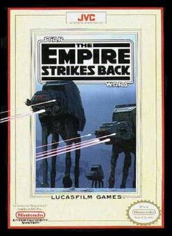 Star Wars The Empire Strikes Back NES cover