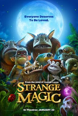 Strange Magic Teaser Poster
