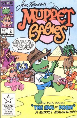 File:MuppetBabiesComic-issue5.jpg