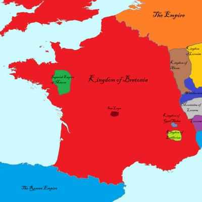France pre -Fall of Hispania