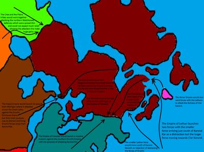 Lethan-Cree-Iriquios Invasion of Druchii