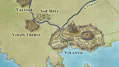 Volantis Map