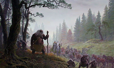 Ted Nasmith - The Aid of the Wild-men