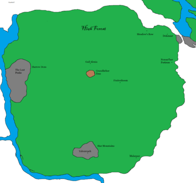 High Forest Map