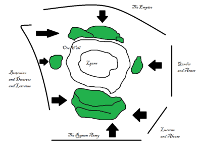 Plan for Battle of Lyons