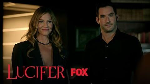 Lucifer Places His Mom Under Maze's Care Season 2 Ep