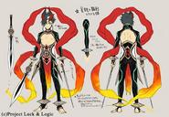 Evil Heart Exterminator, Yoshichika (Art Design)