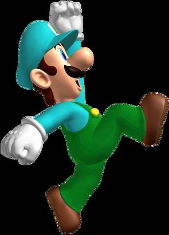 File:Ice Luigi.png