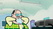 S1 E23 Mr. Tonsils watching the video