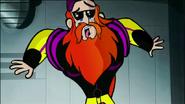 S1 E7 scared Bearded man