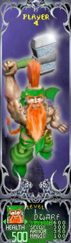 File:Gauntlet Dark Legacy - Green Dwarf (Player 4).png