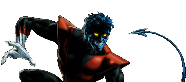 Marvel Avengers Alliance - Dialogue Artwork - Nightcrawler (Classic)
