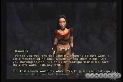 Baldur's Gate- Dark Alliance II - Randalla Brasshorn