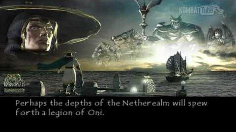 Mortal Kombat Deadly Alliance - Endings - Raiden