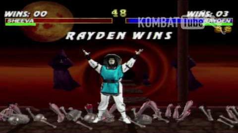 Mortal Kombat 3 - Brutalities - Rayden