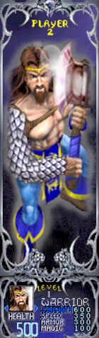 File:Gauntlet Dark Legacy - Blue Warrior (Player 2).png