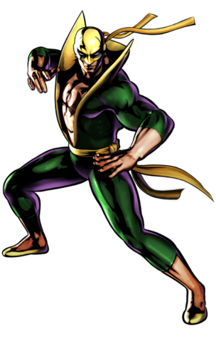 File:Ultimate Marvel vs. Capcom 3 - Marvel Comics Characters - Iron Fist.png