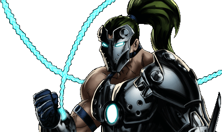 Marvel Avengers Alliance - Dialogue Artwork - Whiplash
