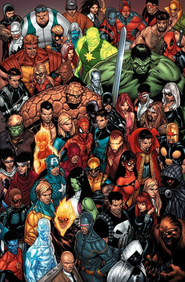 Marvel Comics - Characters
