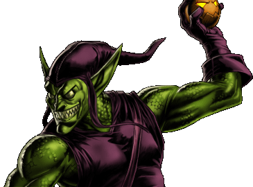 Marvel- Avengers Alliance - Dialogue Artwork - Green Goblin