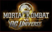 Mortal Kombat vs. DC Universe - Logo